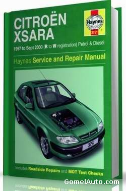 Citroen Xsara 1997-2000. Haynes service and repair manual